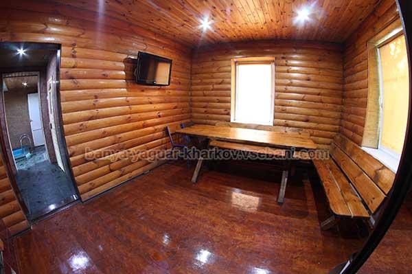 Баня Ягуар - стол для чаепития